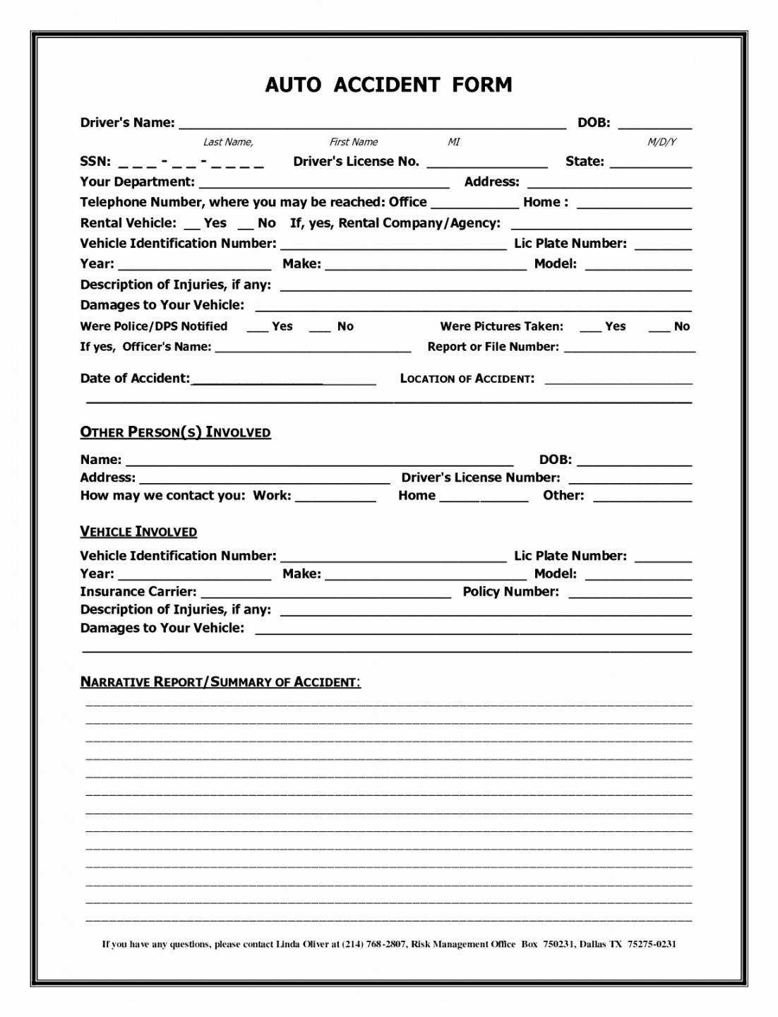 004 Template Ideas Accident Reporting Form Report Uk Of Inside Vehicle Accident Report Template