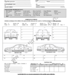 12+ Vehicle Condition Report Templates - Word Excel Samples with Car Damage Report Template