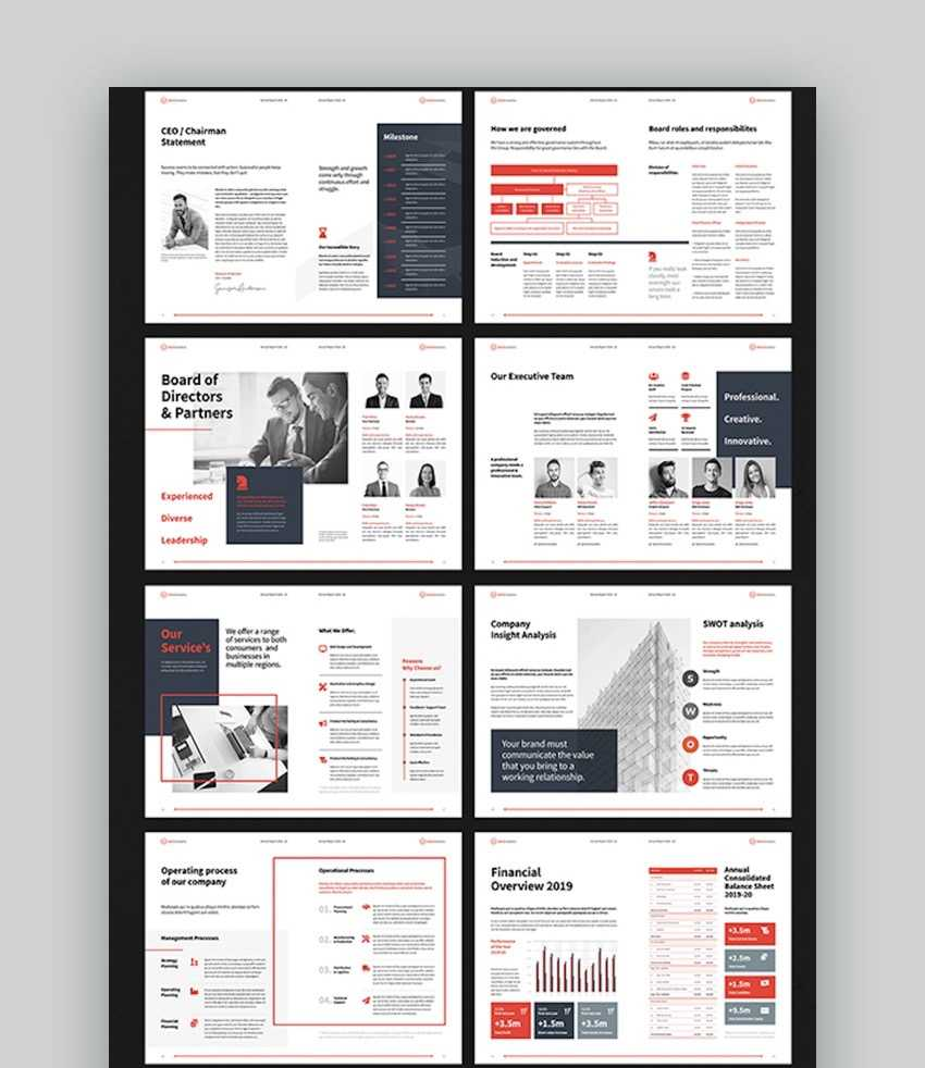 20 Best Free Microsoft Word Business Document Templates Pertaining To Annual Report Template Word
