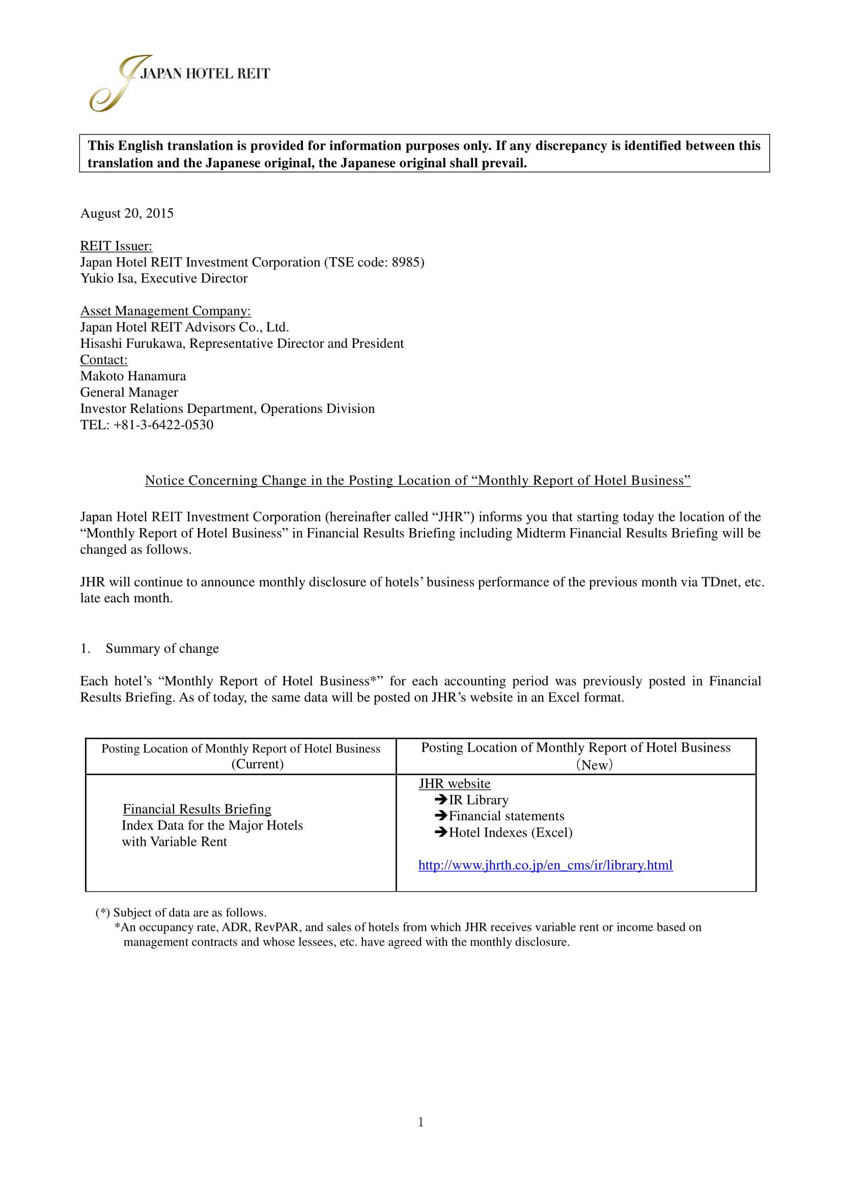 28+ Business Report Examples – Pdf, Word   Examples Pertaining To Ir Report Template