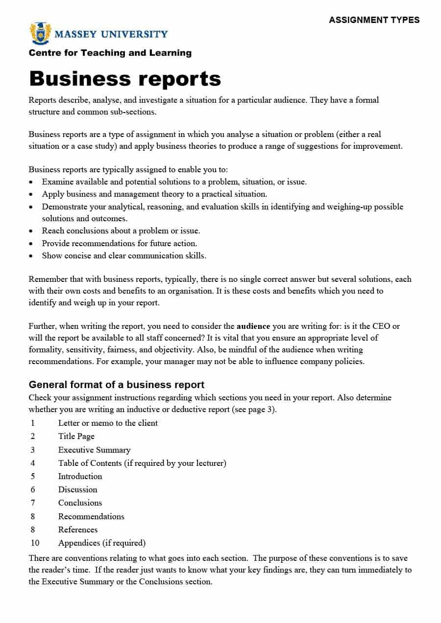 30+ Business Report Templates & Format Examples ᐅ Templatelab Throughout What Is A Report Template