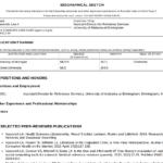 396B Biosketch Nih Template | Wiring Resources regarding Nih Biosketch Template Word