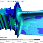 3D Pdf Examples Of Engineering Analysis, Cae, Simulation With Fea Report Template