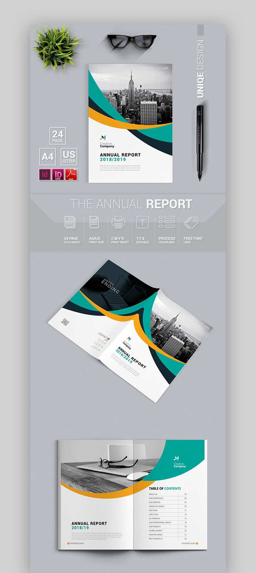 587C Annual Report Template 5 Free Word Pdf Documents In Annual Report Template Word