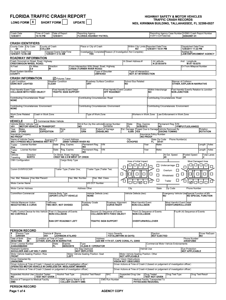 Accident Reports – Fill Out And Sign Printable Pdf Template | Signnow With Regard To Blank Police Report Template