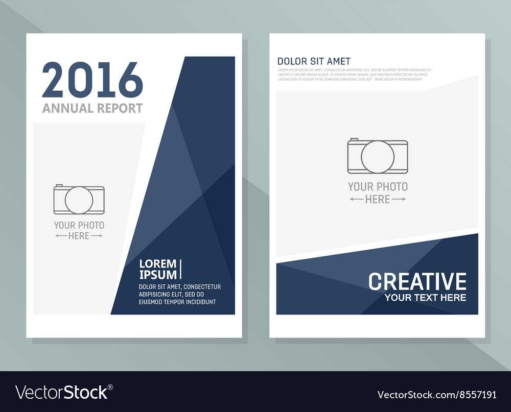 Annual Report Design Templates Business With Regard To Annual Report Template Word