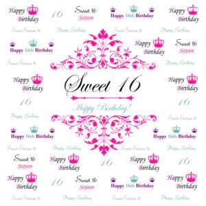 Best 52+ Sixteen Background On Hipwallpaper | Sweet Sixteen in Sweet 16 Banner Template