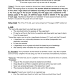 Biology Lab Report Format In Biology Lab Report Template