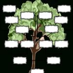 Blank Family Tree Chart   Templates At Allbusinesstemplates throughout Blank Tree Diagram Template