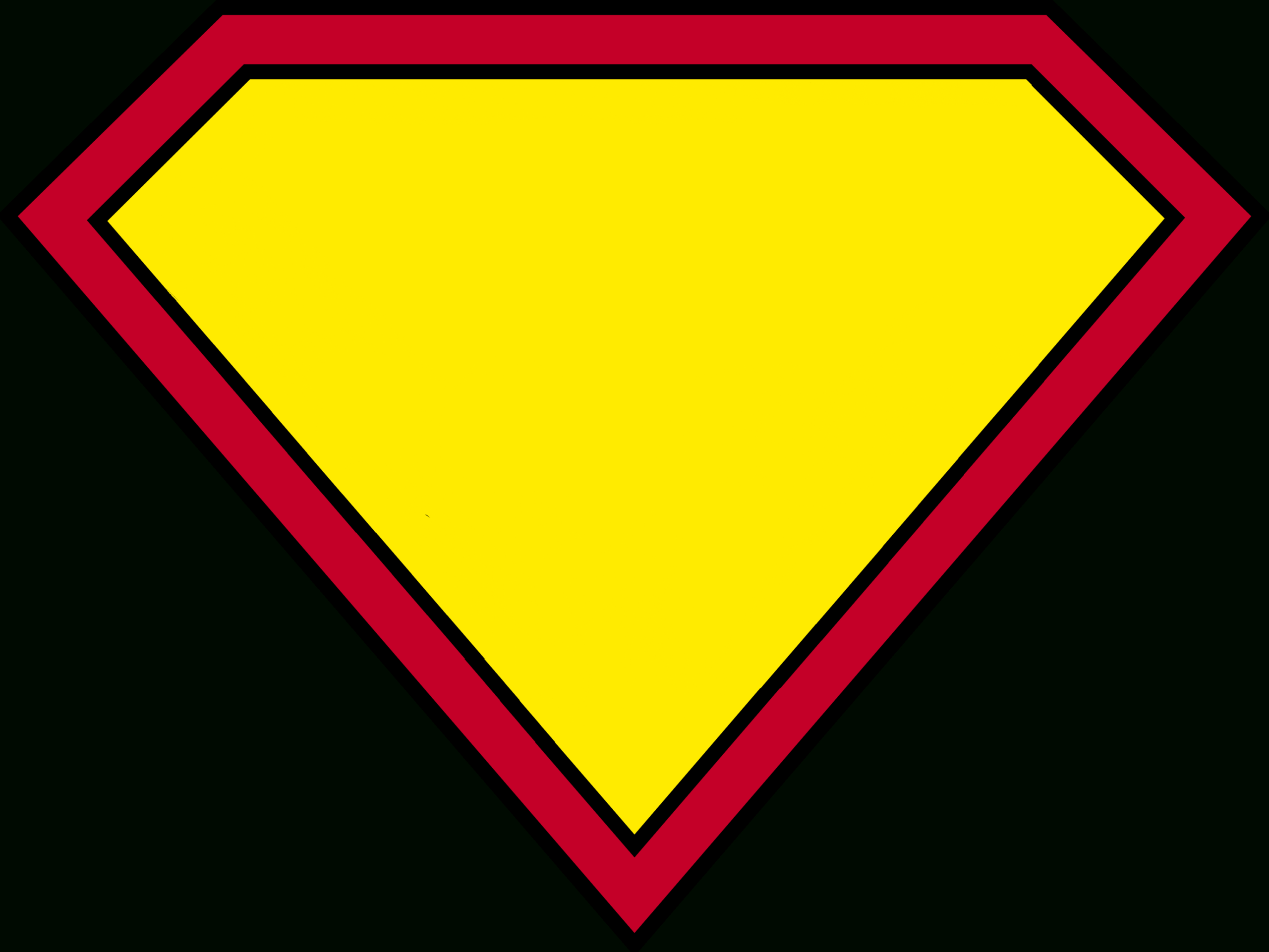 Blank Superman Logos Intended For Blank Superman Logo Template