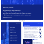 Blue Tech Mckinsey Consulting Report Template intended for Mckinsey Consulting Report Template