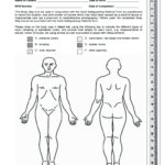 Body Maps Nhs - Fill Online, Printable, Fillable, Blank pertaining to Blank Body Map Template