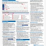 Buy Microsoft Word Quick Reference Cards At Teachucomp, Inc. Pertaining To Cheat Sheet Template Word