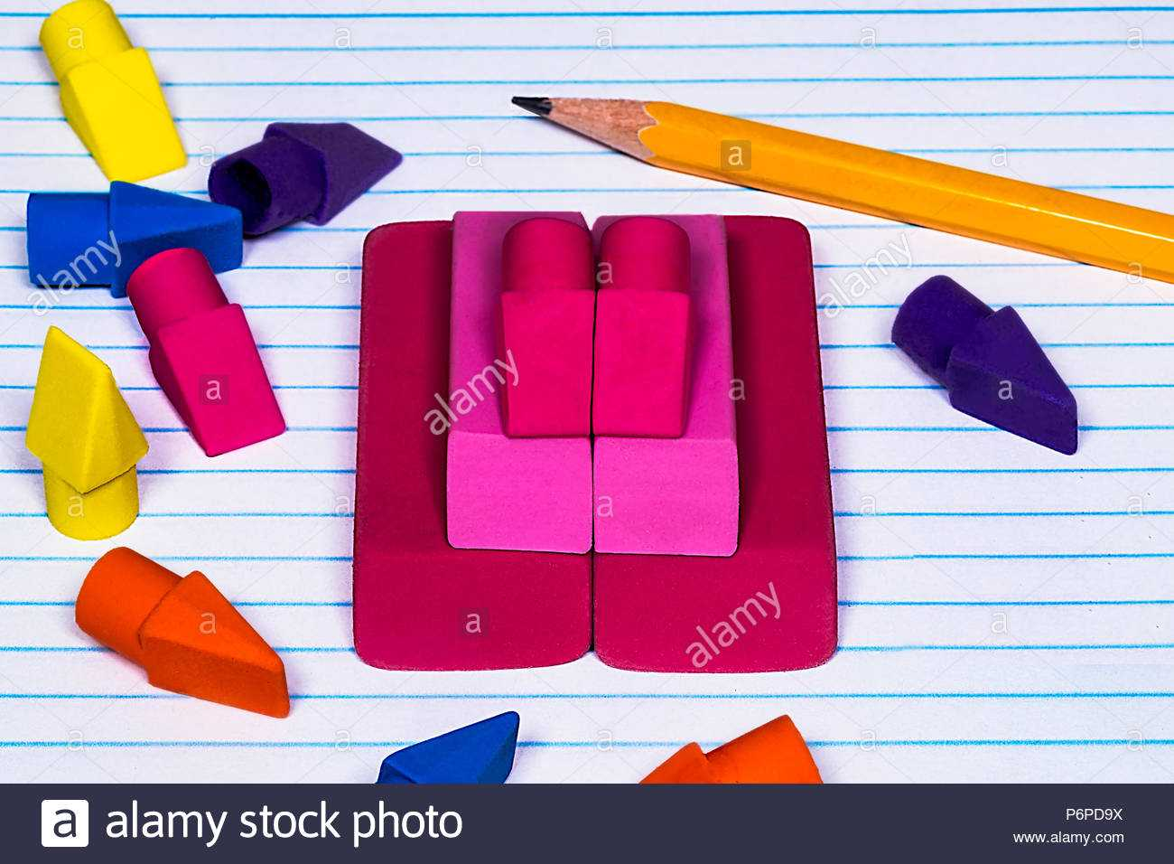 College Ruled Paper Stock Photos & College Ruled Paper Stock Regarding College Ruled Lined Paper Template Word 2007
