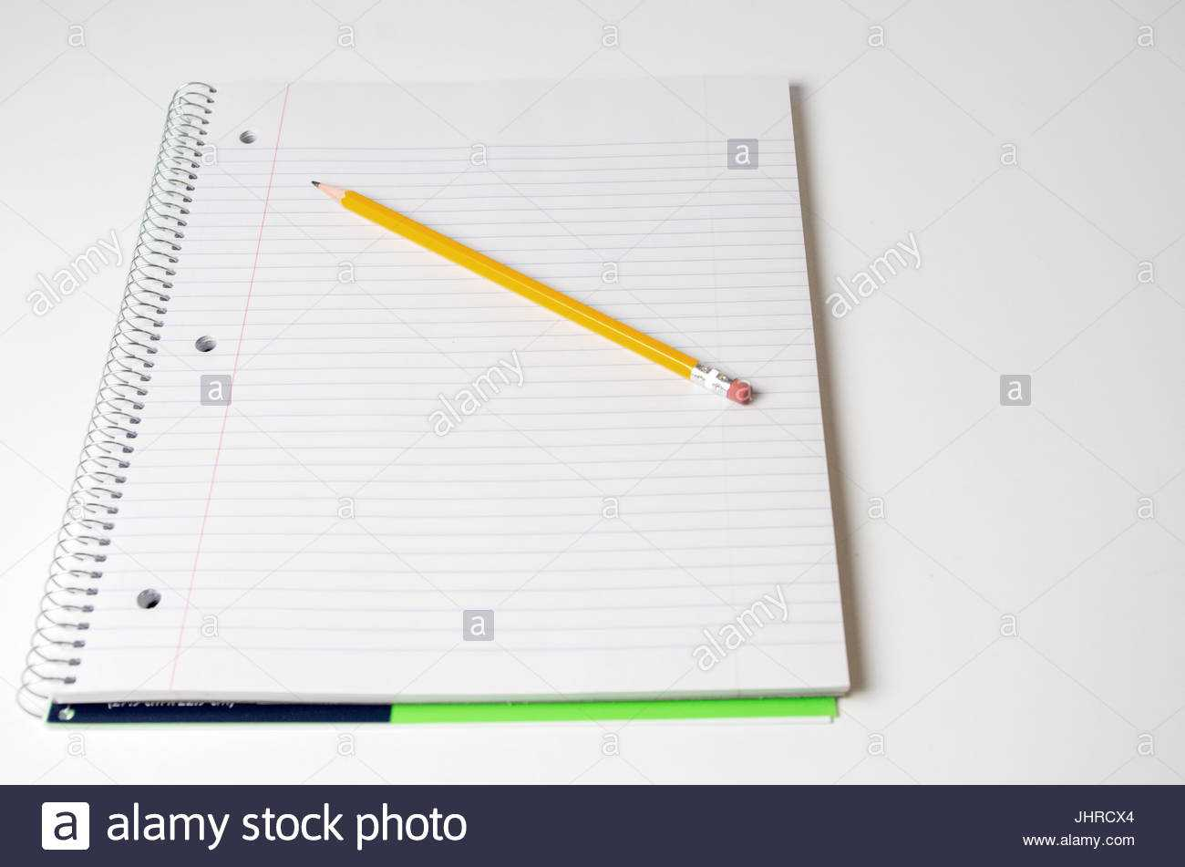 College Ruled Paper Stock Photos & College Ruled Paper Stock With Regard To College Ruled Lined Paper Template Word 2007