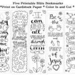 Coloring Pages : Free Printable Coloring Bookmarks Templates with Free Blank Bookmark Templates To Print