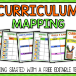 Curriculum Mapping - Grab A Free, Editable Template Now! with Blank Curriculum Map Template