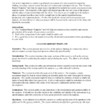 Downloadable Analysis Report Template Sample : V M D Inside Business Analyst Report Template