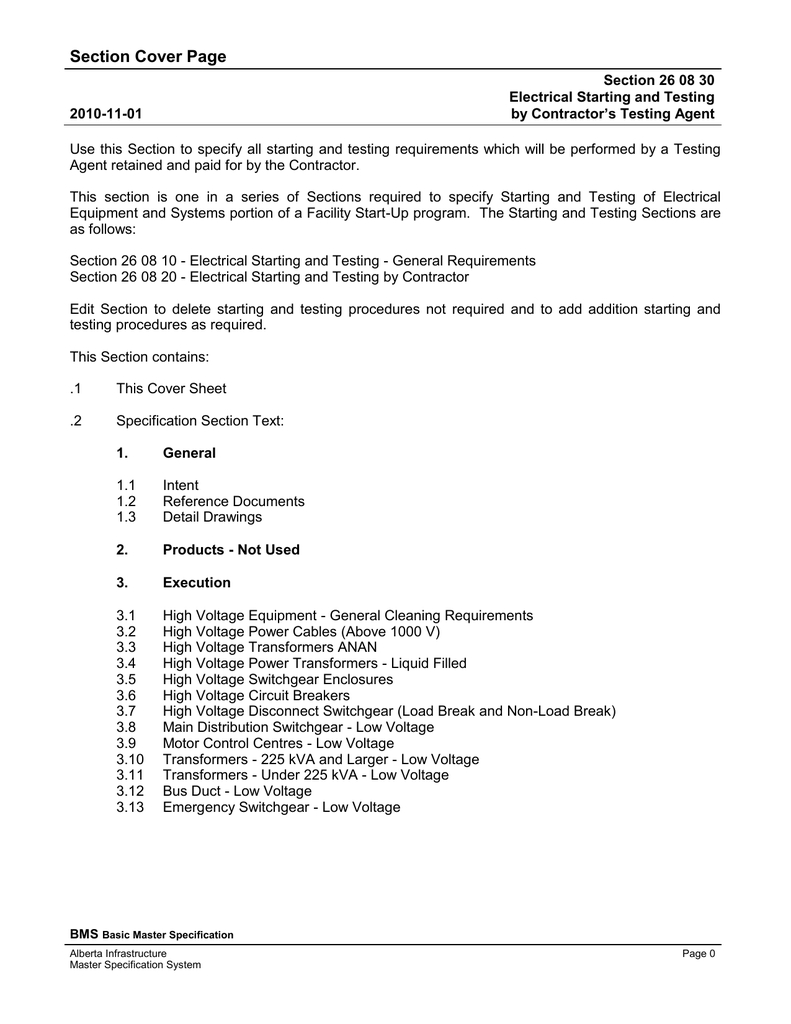 Electrical Starting And Testing By Intended For Megger Test Report Template