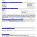 Emergency Lighting Certificate – Fill Online, Printable Pertaining To Test Exit Report Template