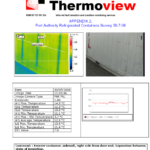 Example Of A Page Of The Report Containing The Thermographic Within Thermal Imaging Report Template