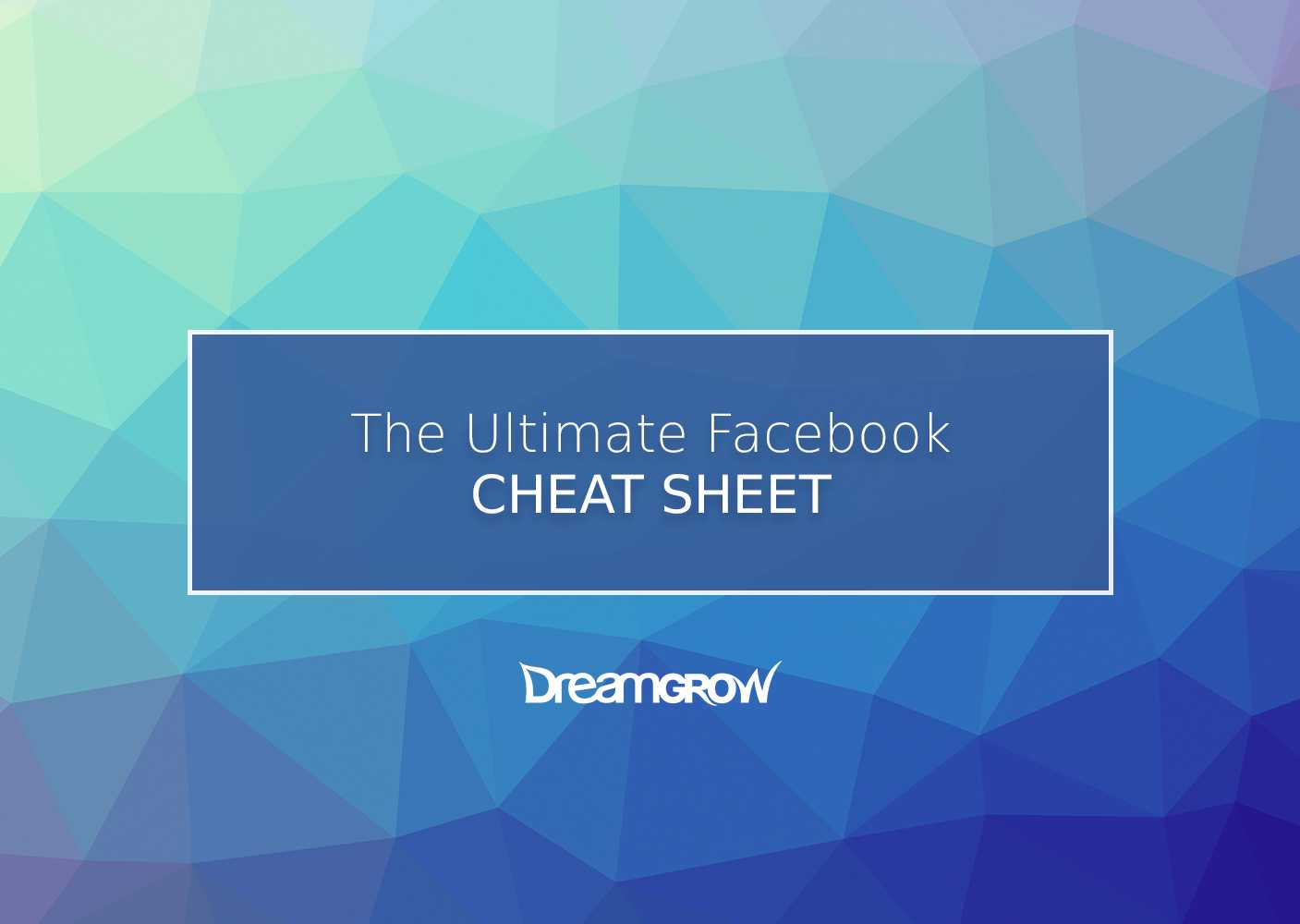 Facebook Cheat Sheet: All Image Sizes, Dimensions, And Intended For Facebook Banner Size Template