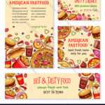 Fast Food Banner And Poster Template Set Design With Regard To Food Banner Template
