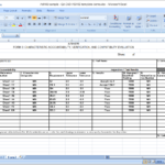 First Article Inspection Report Form (Download Free Sample for Part Inspection Report Template