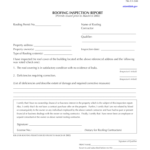 Florida Roof Inspection Form - Fill Online, Printable for Roof Inspection Report Template