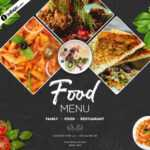 Food Banner Design Template Free Psd Download – Indiater Intended For Food Banner Template