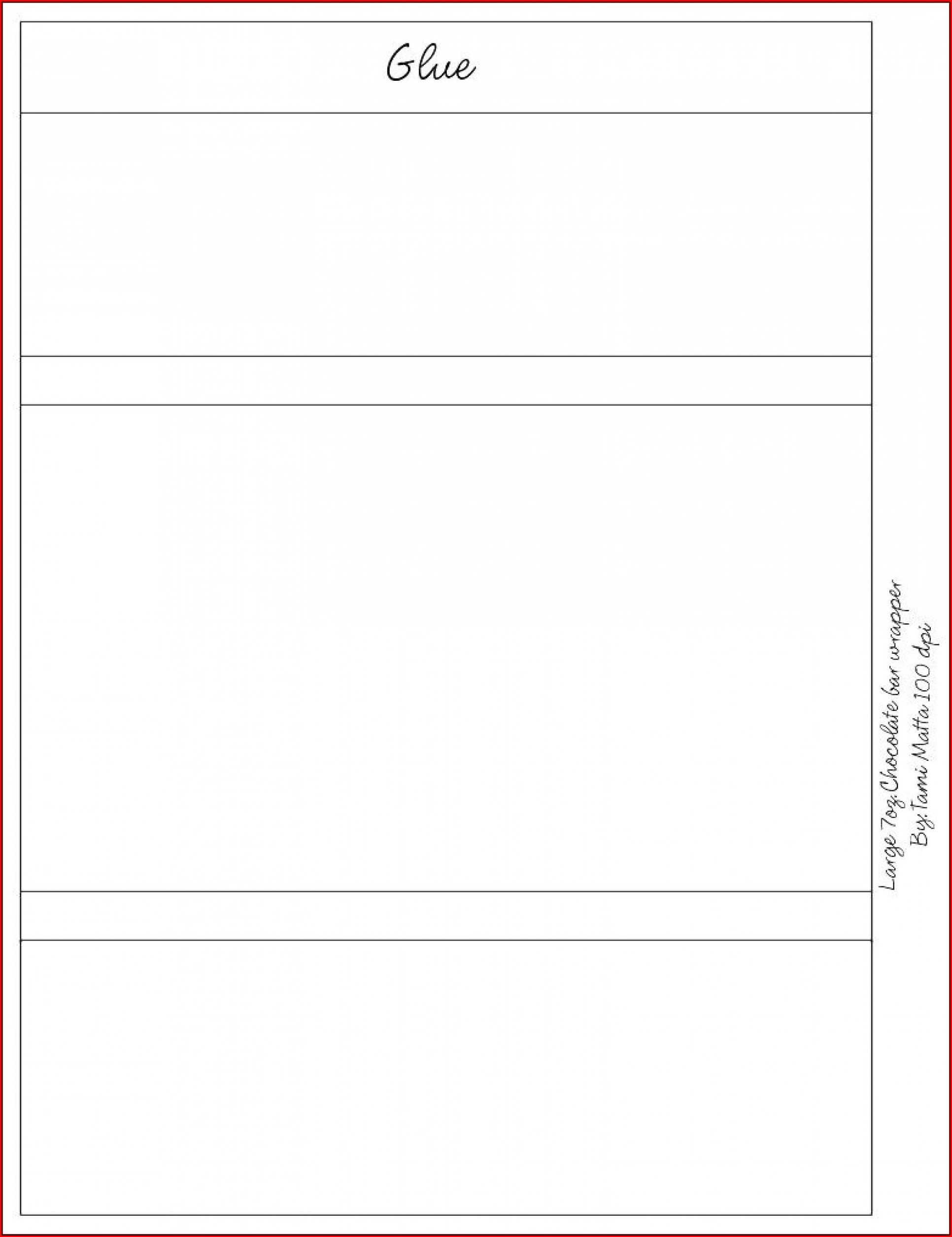 Free Blank Candy Bar Wrapper Template For Word – Template 1 In Candy Bar Wrapper Template Microsoft Word