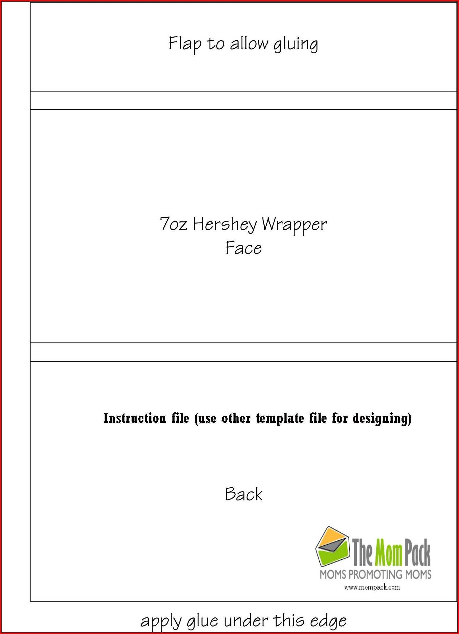 Free Blank Candy Bar Wrapper Template For Word – Template 1 Within Candy Bar Wrapper Template Microsoft Word