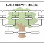Free Family Tree Template – Pdf, Excel, Word & Google Doc Pertaining To 3 Generation Family Tree Template Word