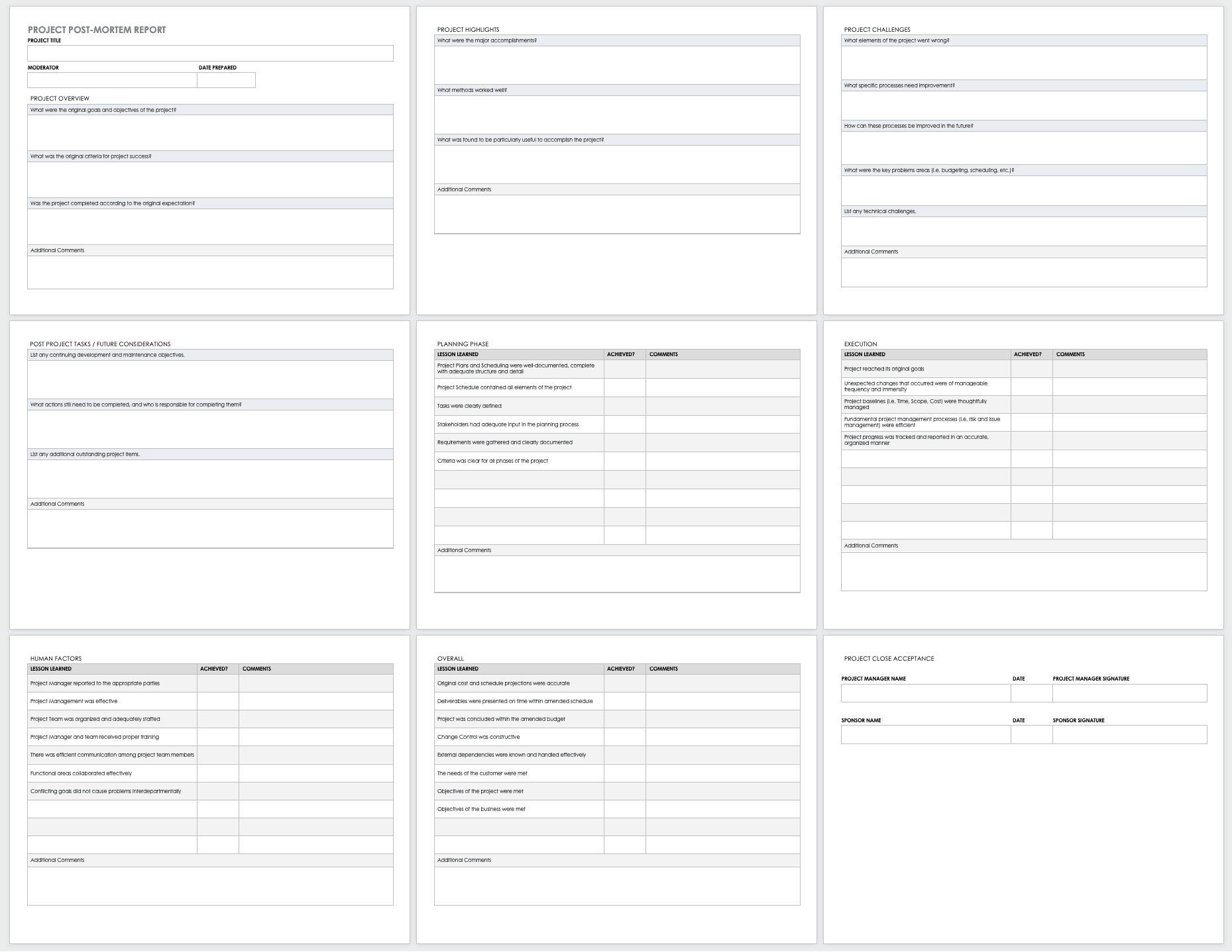 Free Project Report Templates   Smartsheet For Project Implementation Report Template