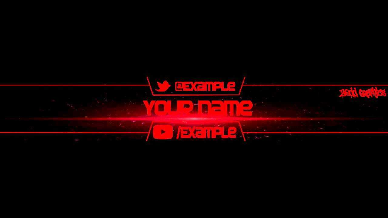Free Yt Banners – Barati.ald2014 Intended For Yt Banner Template