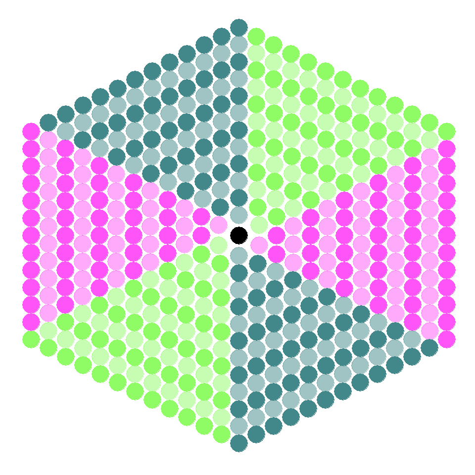 Hexagon Patterns With R – Data Chips Intended For Blank Perler Bead Template