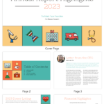 Illustrative Medical Nonprofit Annual Report Template Regarding Non Profit Annual Report Template