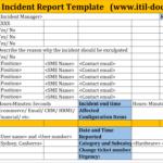 Incident Report Template   Major Incident Management – Itil Docs with Incident Report Template Itil