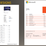 Install Modern Report Design Templates – Finance With Regard To Test Exit Report Template