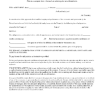Legal Contract Template – Free Printable Documents Within Blank Legal Document Template