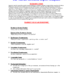 Market Research Report Format   Templates At with Research Report Sample Template