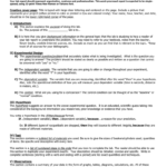 Middle School Science Lab Report Format intended for Lab Report Template Middle School