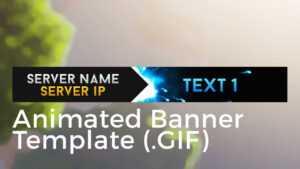 "Minecraft Animated Server Banner Template ""super Dazzle"" regarding Animated Banner Templates"