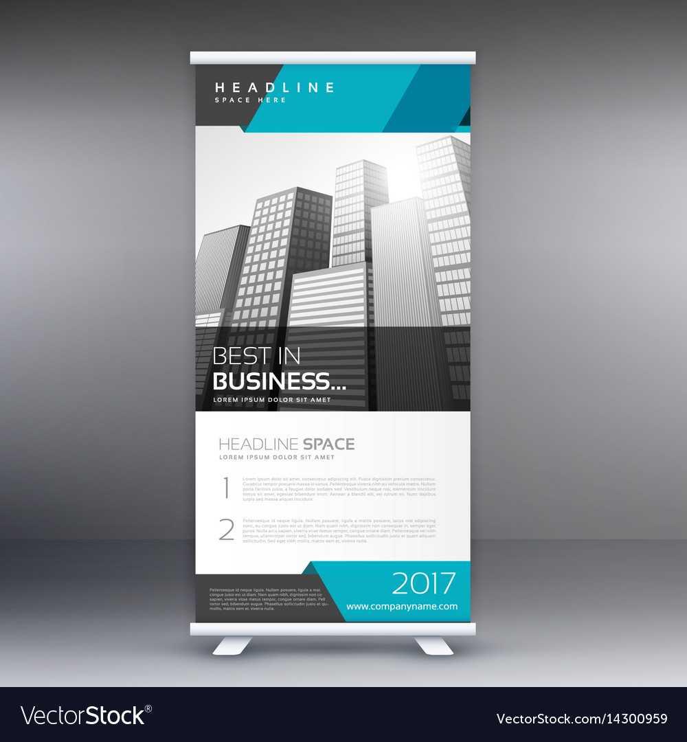 Modern Roll Up Banner Design Template Pertaining To Pop Up Banner Design Template