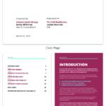 Neon Real Estate Market Industry Report Template for Real Estate Report Template