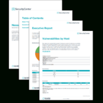 Nessus Scan Report – Sc Report Template | Tenable® Pertaining To Threat Assessment Report Template