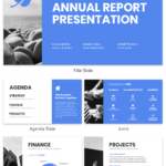 Non Profit Annual Report Presentation Template With Regard To Non Profit Annual Report Template