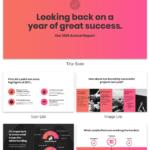 Nonprofit Annual Report With Non Profit Annual Report Template