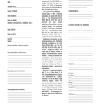 Obituary Template - Fill Online, Printable, Fillable, Blank within Fill In The Blank Obituary Template