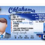 Oklahoma Driver License Template Regarding Blank Drivers License Template